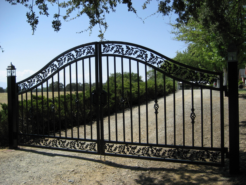 Custom Ornamental Iron Fencing, Handrails, Gates, Sonoma County, Santa Rosa, CA