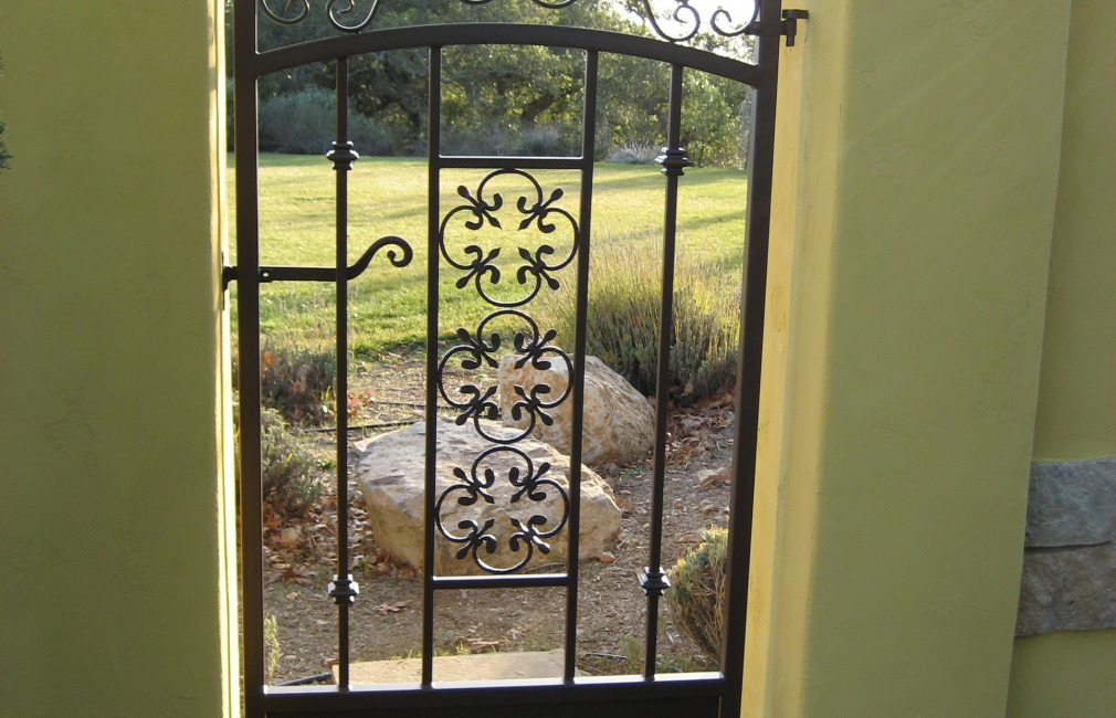 Custom Ornamental Iron Fencing, Handrails, Gates, Sonoma County, Santa Rosa, CA