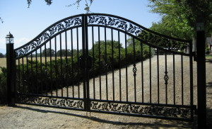 Iron fencing Sonoma County