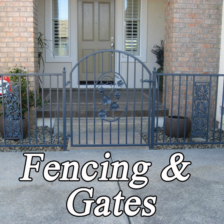 Wrought iron Fencing & Gates Sebastopol